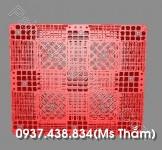 PALLET NHUA MOI MAU DO HAN GHEP 1200X1000X145 MM 3 (3)
